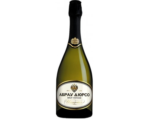 Игристое вино Абрау-Дюрсо Империал Брют Винтаж