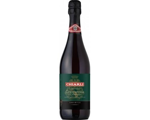 Игристое вино Lambrusco Grasparossa di Castelvetro DOC
