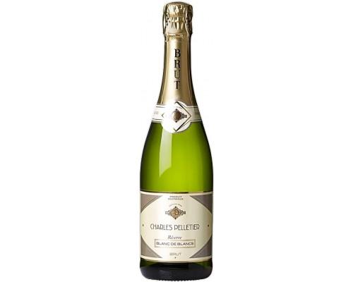 Игристое вино Charles Pelletier Blanc de Blancs Reserve Brut
