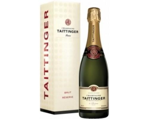 Шампанское Taittinger Brut Reserve gift box
