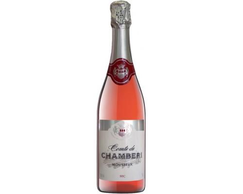 Игристое вино Comte de Chamberi Rose Sec