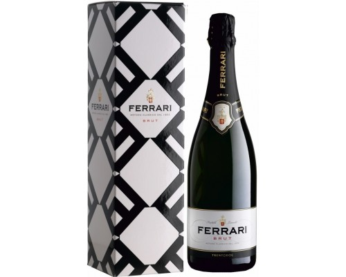 Игристое вино Ferrari Brut Trento DOC gift box
