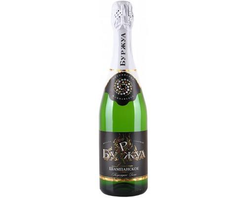 Шампанское Буржуа Белое полусладкое