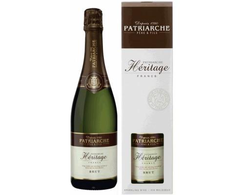 Игристое вино Patriarche Heritage Brut gift box