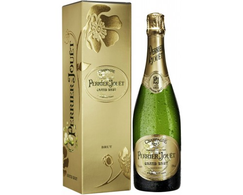 Perrier-Jouet Grand Brut Champagne AOC gift box