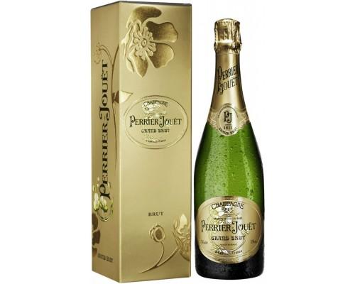 Perrier-Jouet Grand Brut Champagne AOC gift box