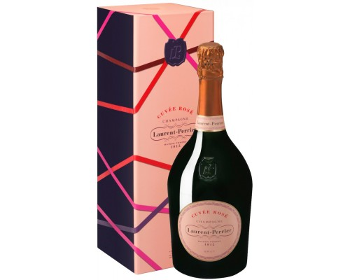 Шампанское Laurent-Perrier Cuvee Rose Brut Christmas box
