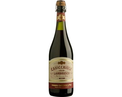 Игристое вино Cavicchioli Lambrusco Rosso