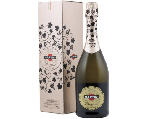 Игристое вино Martini Prosecco DOC gift box