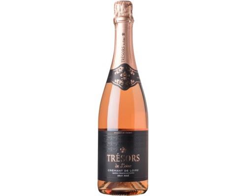 Игристое вино Joseph Verdier Tresors de Loire Brut Rose Cremant de Loire AOC