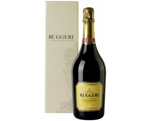Игристое вино Ruggeri Prosecco Valdobbiadene Giall'Oro DOCG gift box