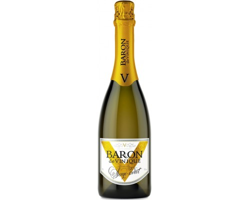 Игристое вино Baron de Vinique Semi-Sweet