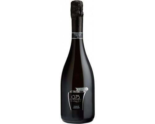 Игристое вино Piera Martellozzo 075 Carati Pinot Grigio Brut