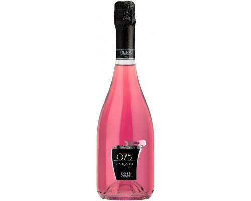 Игристое вино Piera Martellozzo 075 Carati Rose Cuvee Dry