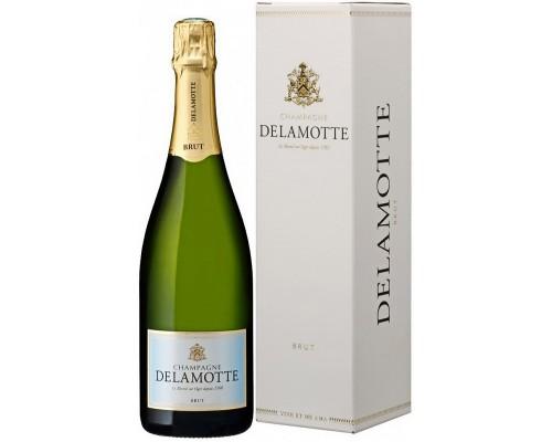 Delamotte Brut Champagne AOC gift box