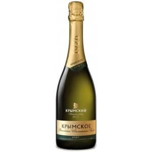 Игристое вино Российское Шампанское Крымское Брют