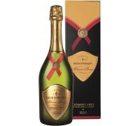 Игристое вино Sieur d'Arques Blason Rouge Cremant Brut Limoux AOC gift box