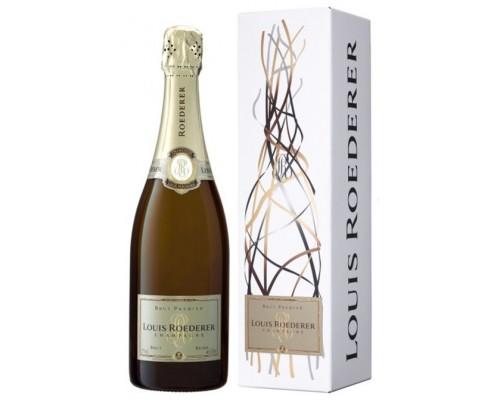Шампанское Louis Roederer Brut Premier AOC grafika gift box