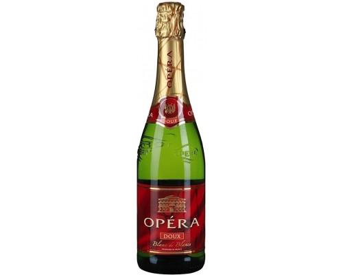 Игристое вино Opera Blanc de Blancs Doux