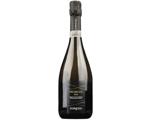 Шампанское Corvezzo Prosecco Brut Superiore di Conegliano Valdobbiadene DOCG