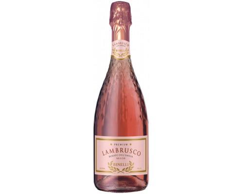 Игристое вино Binelli Premium Lambrusco Rosato Secco Dell'Emilia IGT