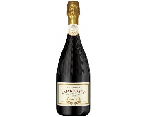 Игристое вино Binelli Premium Lambrusco Rosso Secco Dell'Emilia IGT