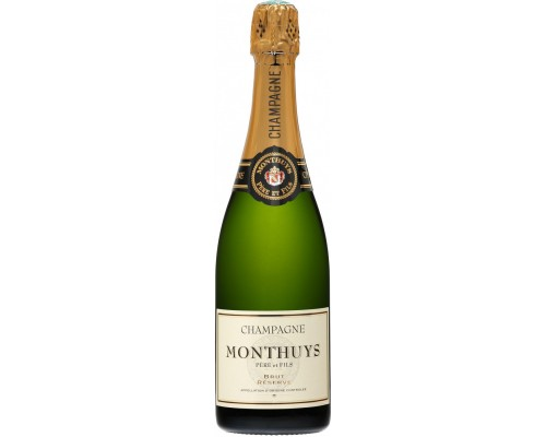 Шампанское Monthuys Pere et Fils Brut Reserve AOC