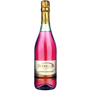 Игристое вино Donelli Lambrusco dell'Emilia IGT Rosato