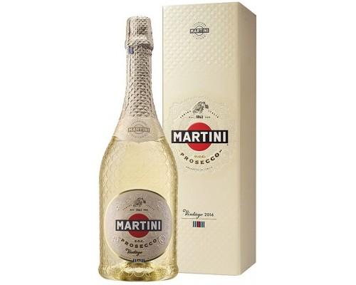 Игристое вино Martini Prosecco Vintage DOC 2016 gift box