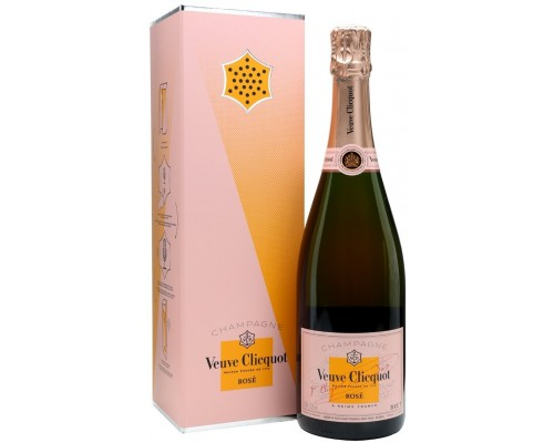 Шампанское Veuve Clicquot Brut Rose with gift box Clicq'Call