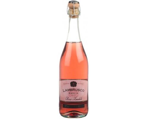 Игристое вино Palestro Lambrusco Emilia IGT Rose Amabile