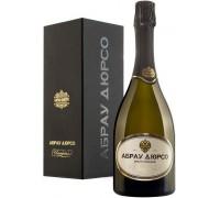 Игристое вино Абрау-Дюрсо Империал Брют Винтаж в подарочной коробке