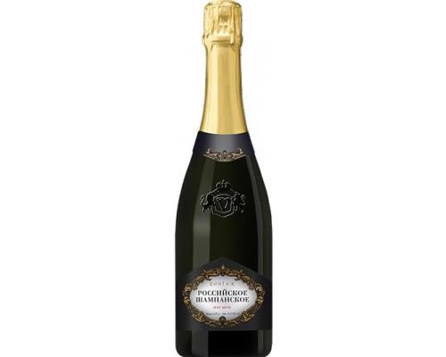 Игристое вино Винтаж Российское шампанское брют