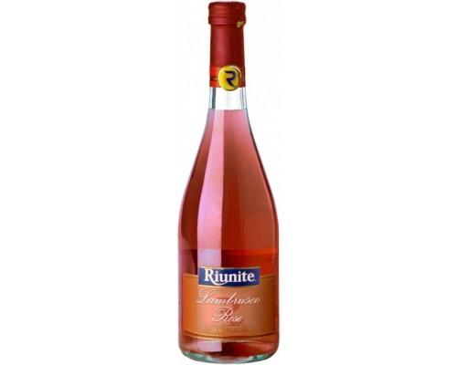 Игристое вино Riunite Lambrusco Rose Emilia IGT