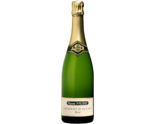 Игристое вино Rene Mure Cremant d'Alsace Brut 375 мл