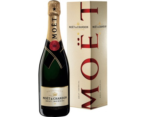 Шампанское Moet & Chandon Brut Imperial in gift box