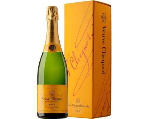 Шампанское Veuve Clicquot Brut with gift box