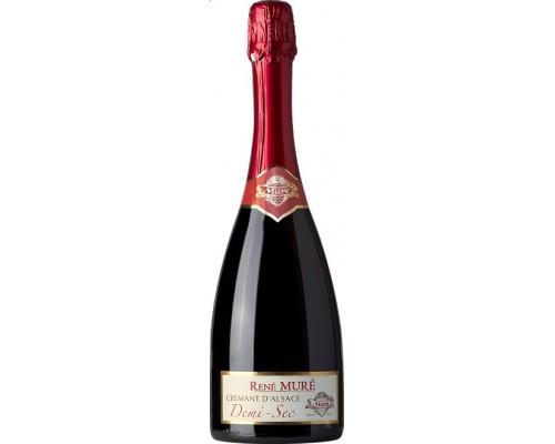 Игристое вино Rene Mure Cremant d'Alsace Demi-Sec
