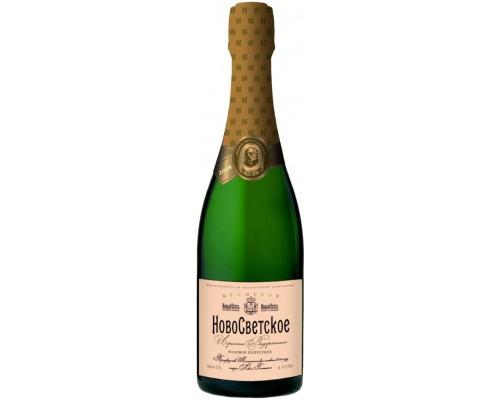 Игристое вино НовоСветское Розовое полусухое