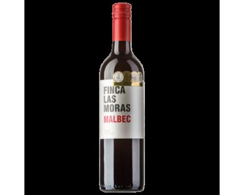 Вино Finca las Moras Malbec красное сухое, 0,75 л