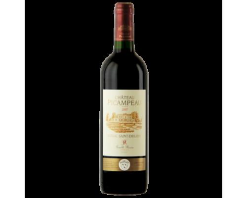 Вино Chateau Picampeau Сент-Эмильон красное сухое 0,75 л