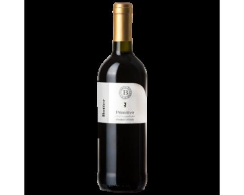 Вино Botter Primitivo Salento красное сухое 0,75 л