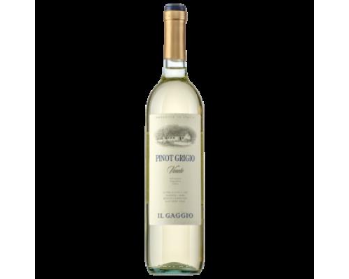 Вино Il Gaggio Pinot Grigio белое сухое 0,75 л