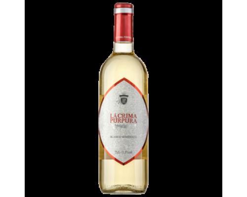 Вино Lacrima белое полусладкое 0,75