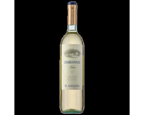 Вино Il Gaggio Chardonnay белое сухое 0,75 л