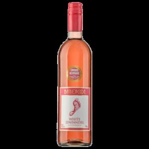 Вино Barefoot Zinfandel розовое полусладкое 0,75 л
