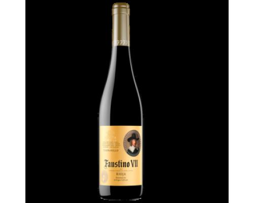 Вино Faustino VII Tempranillo красное сухое 0,75 л