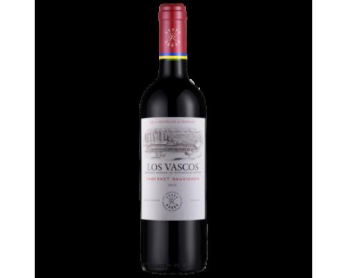 Вино Los Vascos Cabernet-Sauvignon красное сухое 0,75 л
