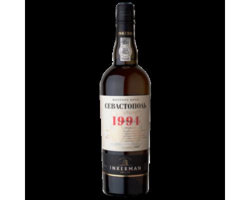 Вино Инкерман Севастополь 1994 белое сладкое 0,75 л
