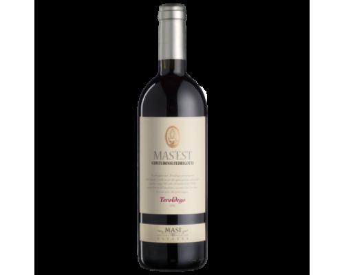 Вино Mazi Mas'est Teroldego красное сухое 0,75 л